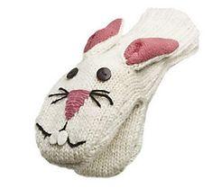 Nirvanna Designs Bunny Mittens