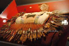 Le coussin à dentelle de Rose Durand, Caen. http://sophiedentelles.canalblog.com/