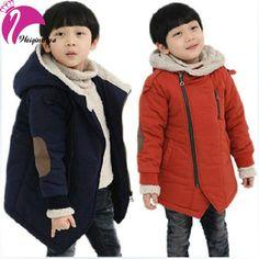 New Brand 2016 Autumn Winter Kid's Fashion & Casual Jackets Boy's Cashmere…