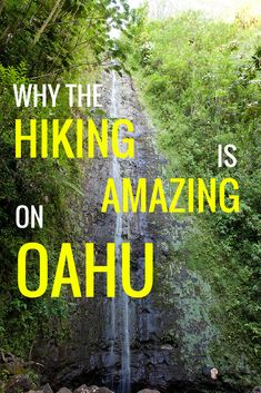 """One of my favorite things to do while vacationing in Hawaii is to plan multiple hikes around the island."""