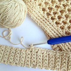 DIY Crochet Market Bag Pattern