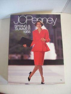 ef6141668cc69 Vintage JCPenney 1988 Spring   Summer CATALOG 1239 Pages ~ VGUC