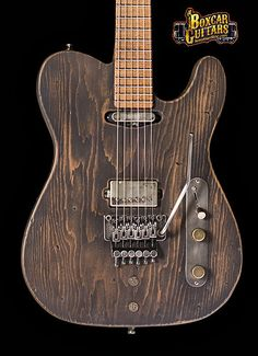 """Luxxtone Choppa T """"End of the Line"""" - Boxcar Guitars"""