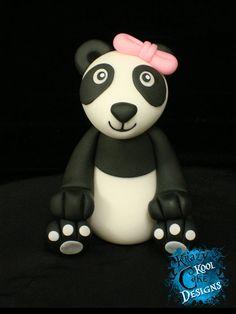 Panda Cake Topper on Etsy, $65.00