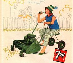 7UP advert 1950s
