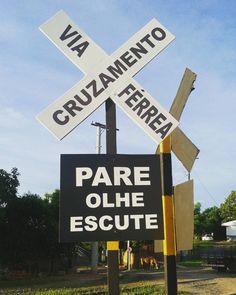 Melhor dica que podemos dar sobre viagens: pare, olhe e escute. #NaBagagem #RioPardo #riograndedosul #Viagem #FicaDica #OlhaOTrem #Turismo