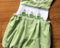 Liberty Yoshie Smocked Bubble and Shoes by patriciasmithdesigns
