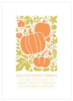 Your guests will fall in love with our Little Pumpkin Children's Birthday Party Invitations. Princess Party Invitations, Kids Birthday Party Invitations, Winter Birthday Parties, Outdoor Birthday, Invite, Birthdays, Pumpkin, Party Ideas, Fall