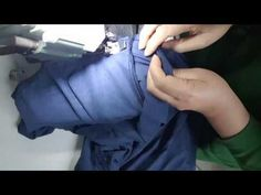 테일러드 재킷 칼라 달기 - YouTube