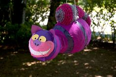 Alice in Wonderland Party - The Cheshire Cat Pinata