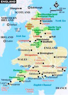 Map | England