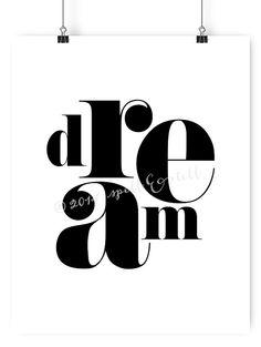 Impression de rêve / / Photographie noir et blanc par spellandtell