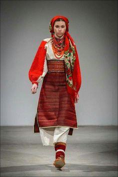Hutsul traditional costume, Ukraine               Ukrainian Beauty etno