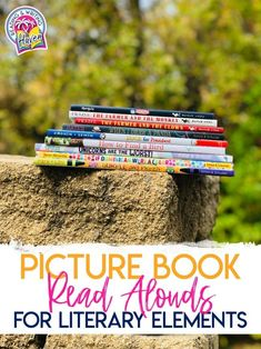 Picture book read alouds for middle school. Teach reading literature standards with mentor texts. #ReadAlouds #LiteraryElements #LiteraryAnalysis #MiddleSchoolELA