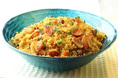 Artsy Bites: Curried Couscous with Fried Garlic