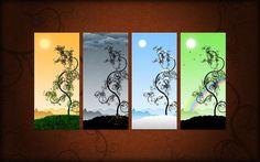 Seasons wallpaper
