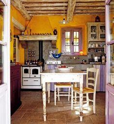 Inspiração décor - estilo rústico colorido!!#!/