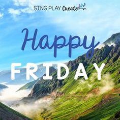 Happy Friday!⠀ #singplaycreate ⠀ #musicclassresource ⠀ #musiceducation ⠀ #elementarymusiced ⠀ #musiced ⠀ #musicandmovement⠀ #creativemovement⠀ #stretchybands⠀ #musicclassactivities⠀ #musicandmovement⠀ #elementarymusicteacher⠀ #elementarymusicclass⠀ #elementarymusic educator⠀ #freeactivities⠀ #teacherjoy⠀ #teacherlife Music Class, Music Education, Carl Orff, Music And Movement, Free Activities, Elementary Music, Happy Friday, Singing, Play