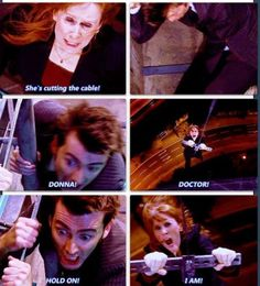 Donna screams waaaaay too much 12th Doctor, Doctor Who, Nice To Meet, Meet You, Catherine Tate, Donna Noble, Don't Blink, Dr Who, A Good Man