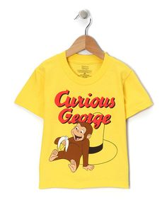 Yellow 'Curious George' Tee - Toddler