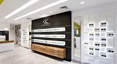 Ottica Gallazzi by Arketipo Design, Milano Italy eyewear store design