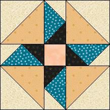 Block of Day for December 10, 2015 - Spinning Blades. Definitely in different colors.