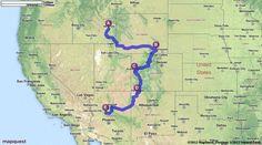 Driving Directions from Idaho Falls, ID to Prescott, AZ - MapQuest Boise City, Salt City, City O, St Cloud, Idaho Falls, Rapid City, Driving Directions, Fort Collins, Nebraska