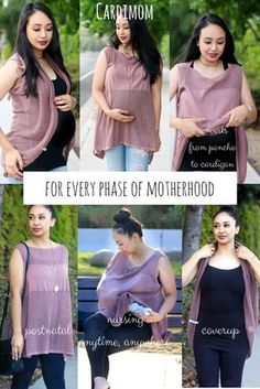 The Cardimom can be worn post-natal, maternity, nursing, as a a coverup and for babywearing. One item for so many uses #maternity #babywearing #nursing