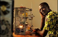 3D Printer Made from E-waste in Africa | Hackaday