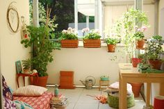 """I'd love to spend spring-fall afternoons reading on this balcony!    (""""The balcony season is open now"""" by jasna.janekovic, via Flickr)"""