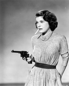 Marie Lou Gerson - when even the women were badass enough to shoot from the hip.