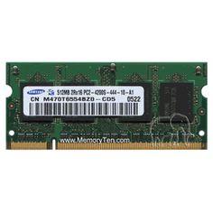 512MB Dell DDR2-533 PC2-4200 200pin SODIMM (p/n DELL-512MB-DDR2-533S)