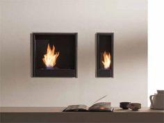 outside hanged fireplace - Pesquisa Google