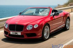 Bentley Continental GTC V8 S 528 CV Gama Continental GTC Descapotable Exterior Frontal-Lateral-Cenital 2 puertas