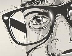 """Empfohlenes @Behance-Projekt: """"Fear Head Illustration"""" https://www.behance.net/gallery/14187823/Fear-Head-Illustration"""