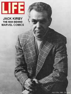 Jack Kirby: The Man Behind Marvel Comics. - Life magazine 1966 ~ I wonder how the humble Stan Lee enjoyed this article.