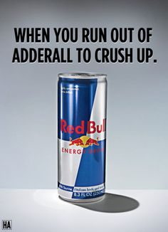 ""\""""When you run out of Adderall to crush up."""" (via #spinpicks)""236|326|?|en|2|9a5da64f3e54de4ea4c250392b233759|False|UNLIKELY|0.3064527213573456