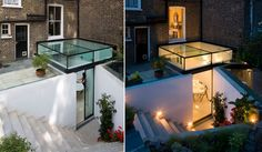Glass patio extension