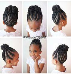 Beautiful braids and twists.