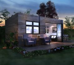 Container House - 2 units luxury container homes design, prefab shipping container homes More - Who Else Wants Simple Step-By-Step Plans To Design And Build A Container Home From Scratch? Container Home Designs, Prefab Shipping Container Homes, Prefab Homes, Shipping Containers, Tiny Homes, Prefab Tiny Houses, Building A Container Home, Container House Plans, Cargo Container