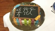 Kids school cake by Omar
