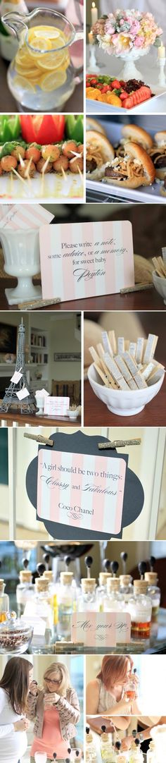 chanel baby shower on pinterest coco chanel chanel baby shower and
