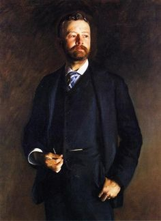 John Singer Sargent (USA, - Henry Cabot Lodge - 1890 - oil on canvas 127 x cm - National Portrait Gallery, Washington, DC Call Of Cthulhu, Henry Cabot Lodge, Oil Canvas, Instalation Art, Google Art Project, Charcoal Drawing, American Artists, Art Google, Lodges