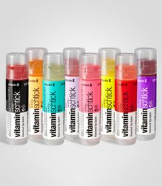 vitamin water lip balms so want all of these :v