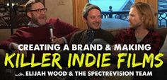 In this episode I speak to indie film favorite and all around amazing human being Elijah Wood (Lord of the Rings, Sin City) and his remarkable partners...