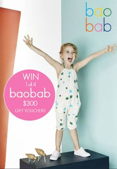 This month as a KidStyleFile Weekly Newsletter Subscriber, you have the opportunity to win one of four$300 Gift vouchers from one of KidStyleFile's favourit