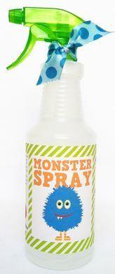 ANTI MONSTER SPRAY! Aromatherapie bedtijd kussen spray