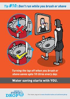 Water Saving Tips on Wacom Gallery Save Water Pictures, Save Water Poster Drawing, Save Our Water, Water Saving Tips, Importance Of Water, Water Scarcity, Water Challenge, Water And Sanitation, Water Waste