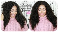 {One Month Update} Care, Tips & Thoughts | Her Hair Company Brazilian Curly