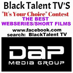 """If you know a Producer, Director tell them to upload their best work. We will let the viewers decide. Black Talent TV's """"It's Your Choice Contest"""". Youtube Sensation, Tvs, Singer, Let It Be, Film, Black, Movie, Film Stock, Black People"""